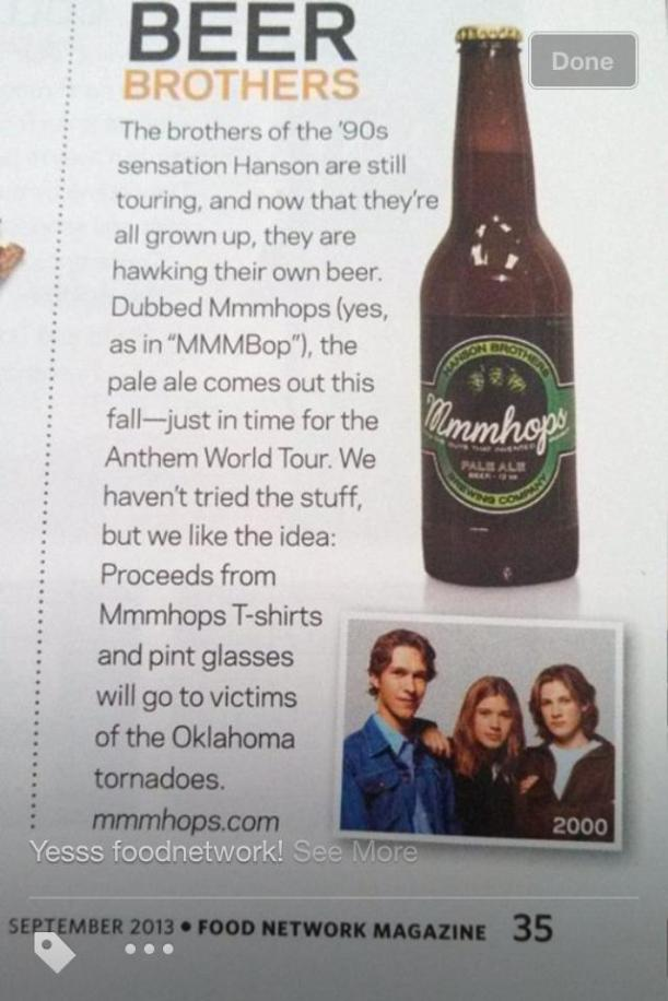 Food Network Magazine: Beer Brothers